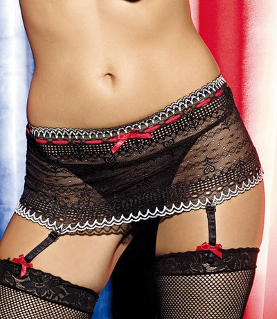 Amazon.com: Kwik Sew Bustier Panties & Garter Belt Pattern By The