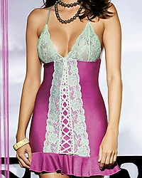 Obsessive Lilac chemise