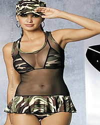 Obsessive Soldier dress